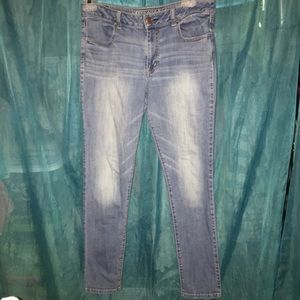 American Eagle high rise jegging size 14 Long